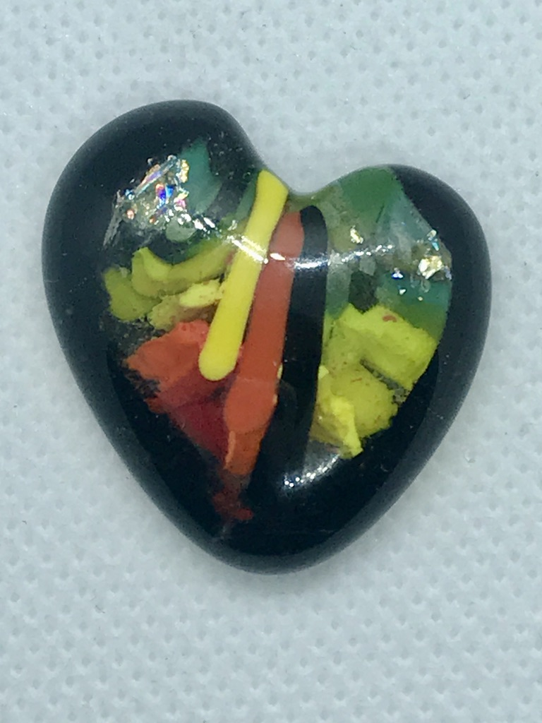 Focus Heart Mini- Art Glass Gift SOLD