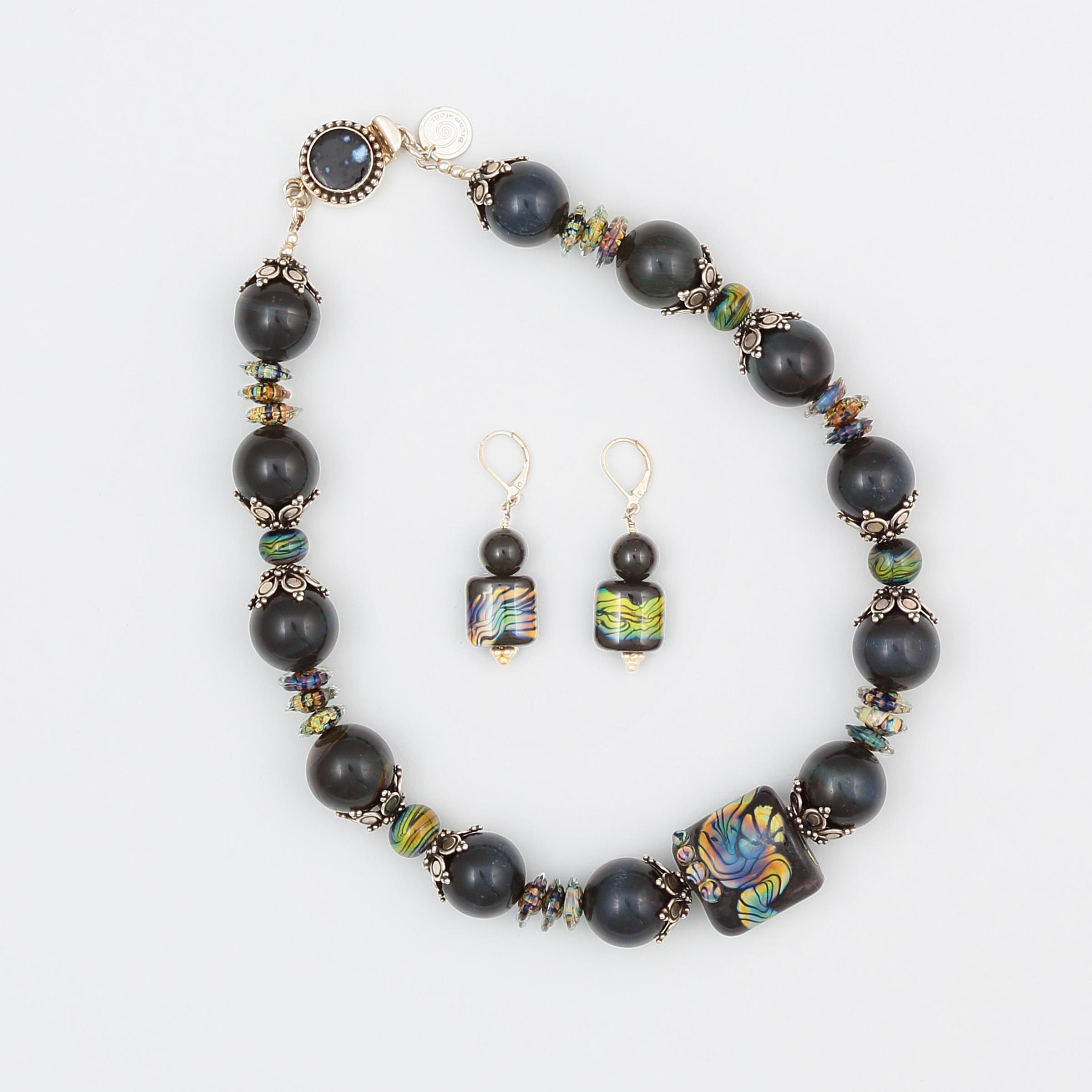 Midnight Comet Necklace