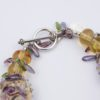 High Tea Bracelet Closeup Clasp by Vibrant and Sage with Handmade Art Glass