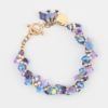 Rock Candy Bracelets by Vibrant and Sage with Swarovski Crystals in Custom Colours