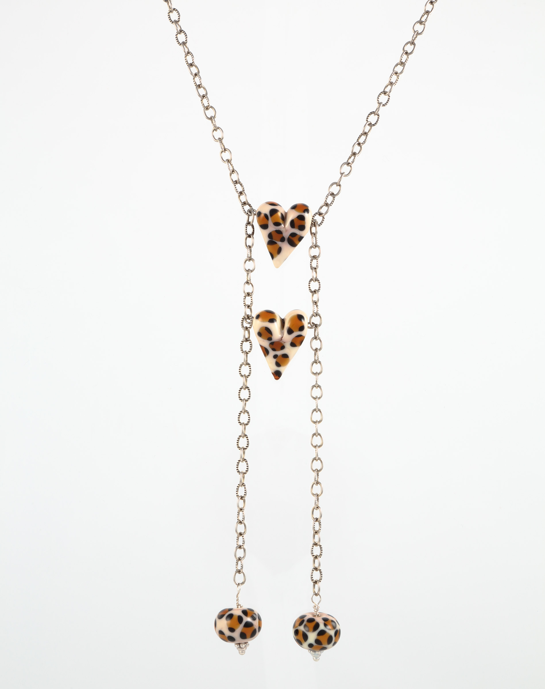 Two by Two Animal Print Leopard Necklace