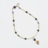 Abstraction Necklace by Vibrant and Sage with Gemstones and Sterling Silver